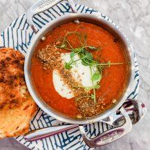 Tomato & Basil Soup Recipe