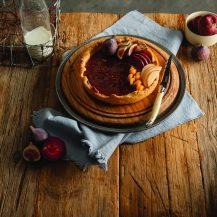 Fruit crème brûlée tart recipe