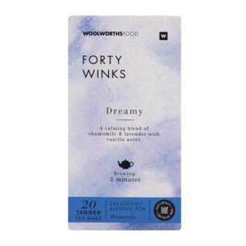 nighttime tea forty winks tea woolworths