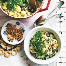 Cauliflower & rocket risotto recipe