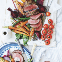 Mustard & horseradish roast beef recipe